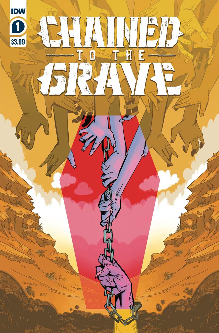 Chained To The Grave #1 Cover A Regular Kate Sherron Cover