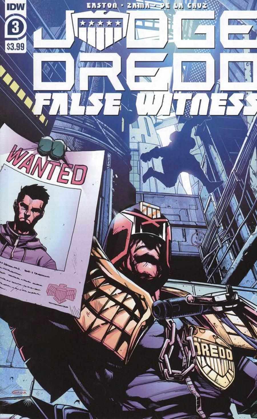Judge Dredd False Witness #3 Cover A Regular Kei Zama Cover
