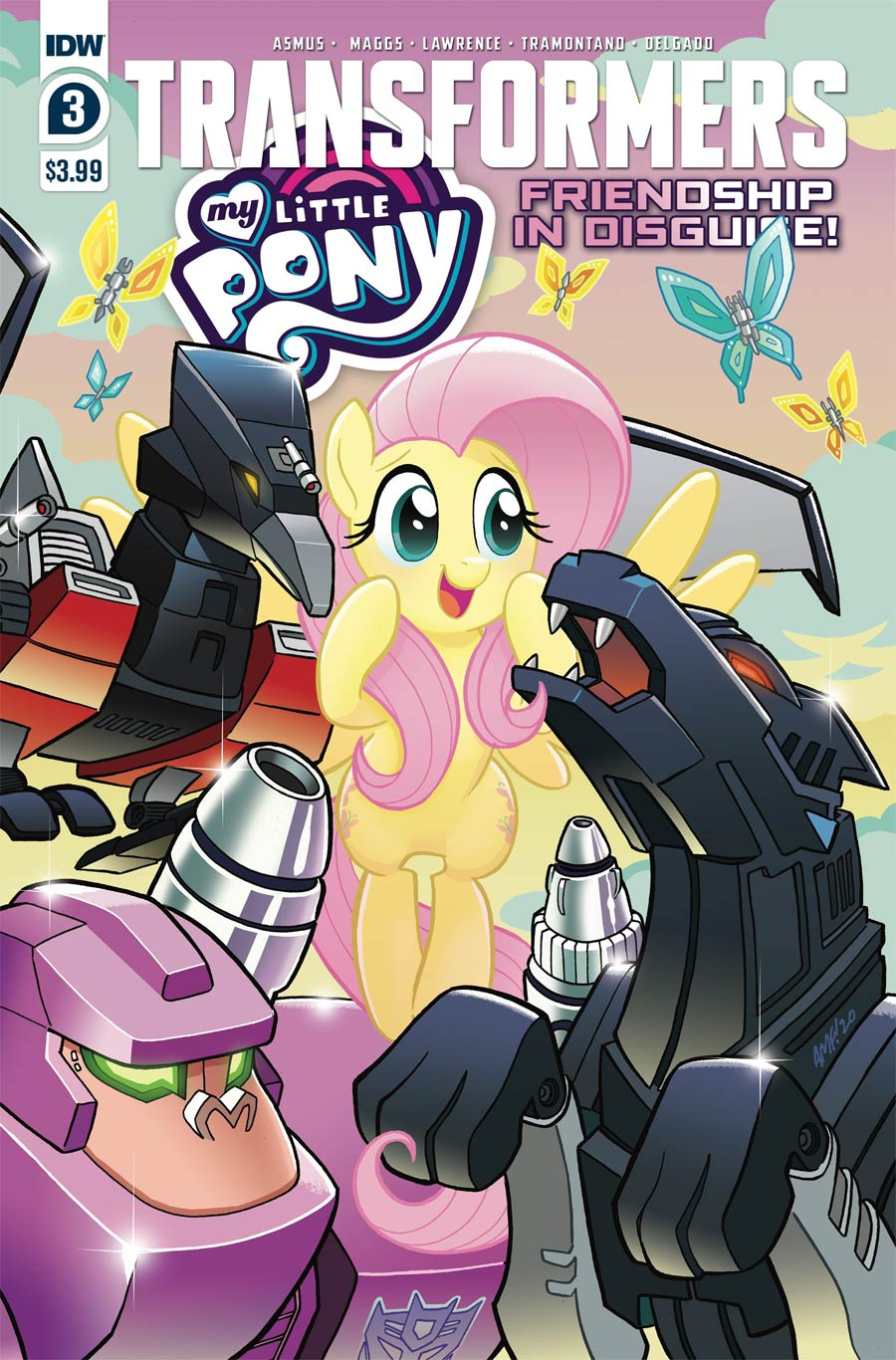 My Little Pony Transformers Friendship In Disguise #3 Cover A Regular Tony Fleecs Cover