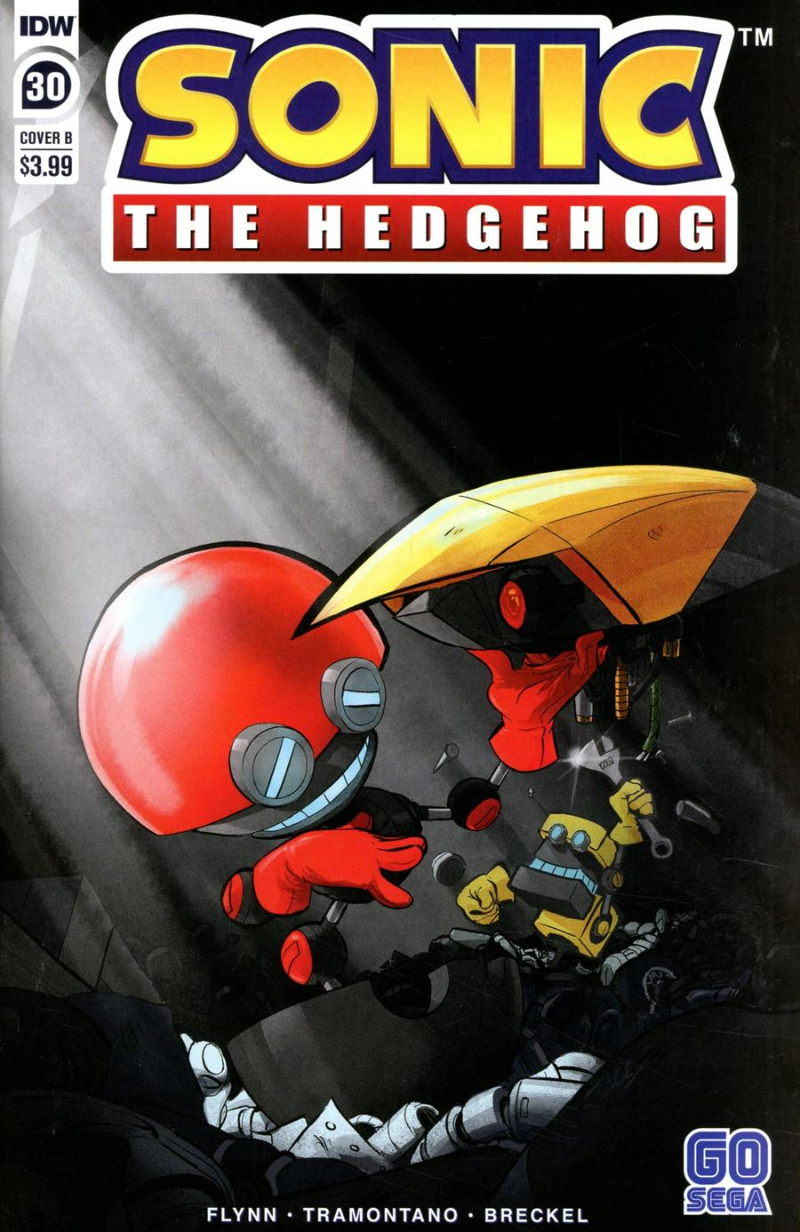 Sonic The Hedgehog Vol 3 #30 Cover B Variant Diana Skelly Cover