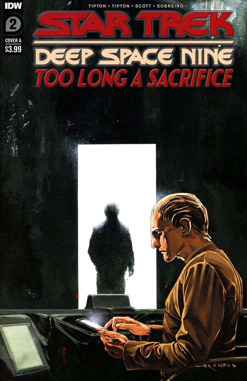Star Trek Deep Space Nine Too Long A Sacrifice #2 Cover A Regular Ricardo Drumond Cover