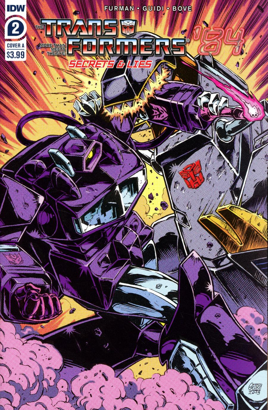 Transformers 84 Secrets And Lies #2 Cover A Regular Guido Guidi Cover