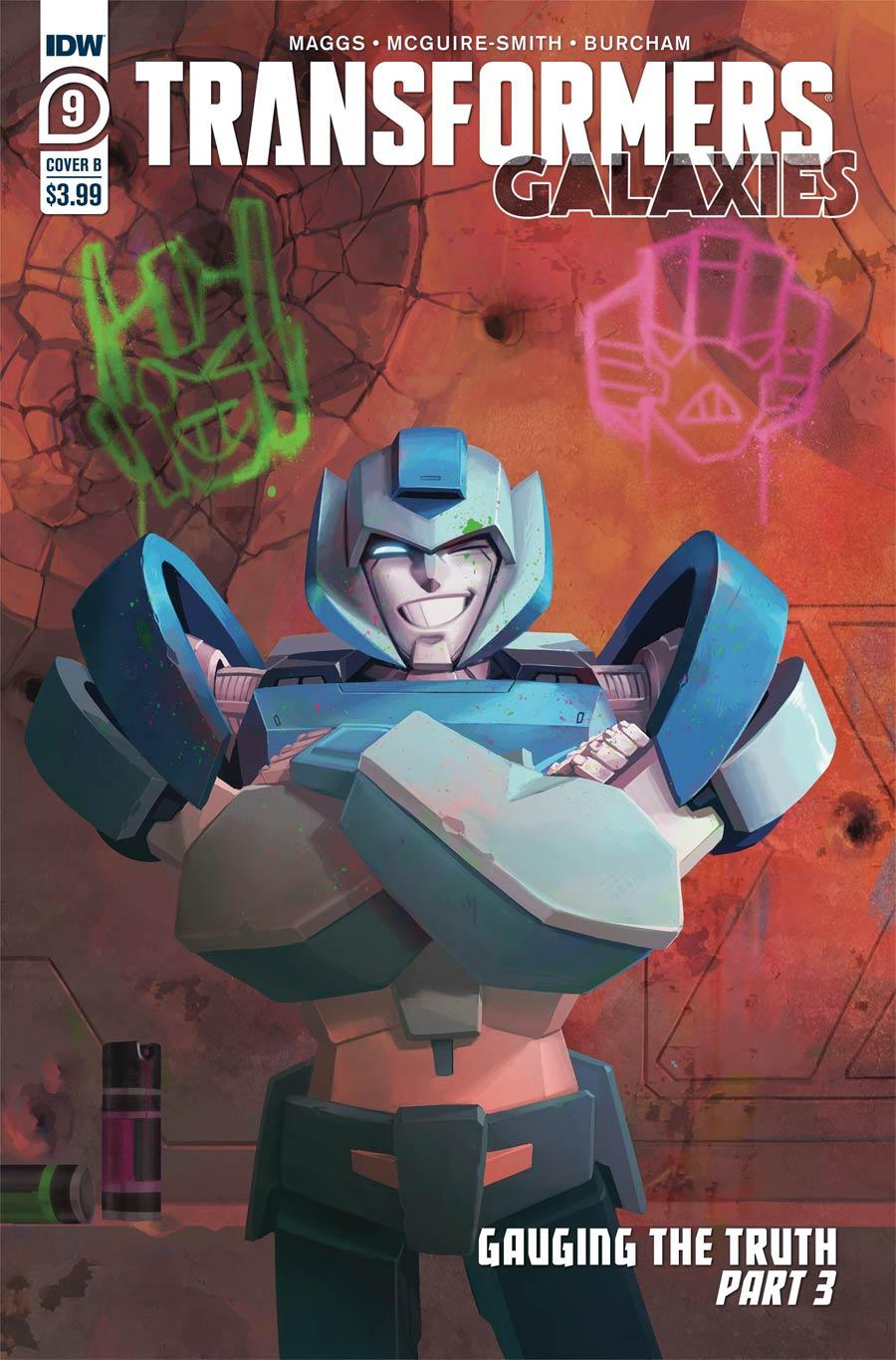 Transformers Galaxies #9 Cover B Variant Sara Pitre-Durocher Cover