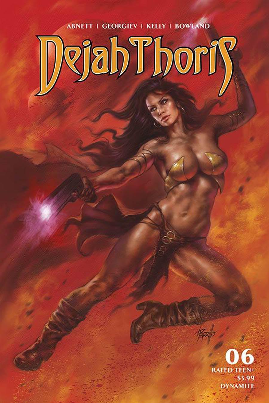 Dejah Thoris Vol 3 #6 Cover A Regular Lucio Parrillo Cover