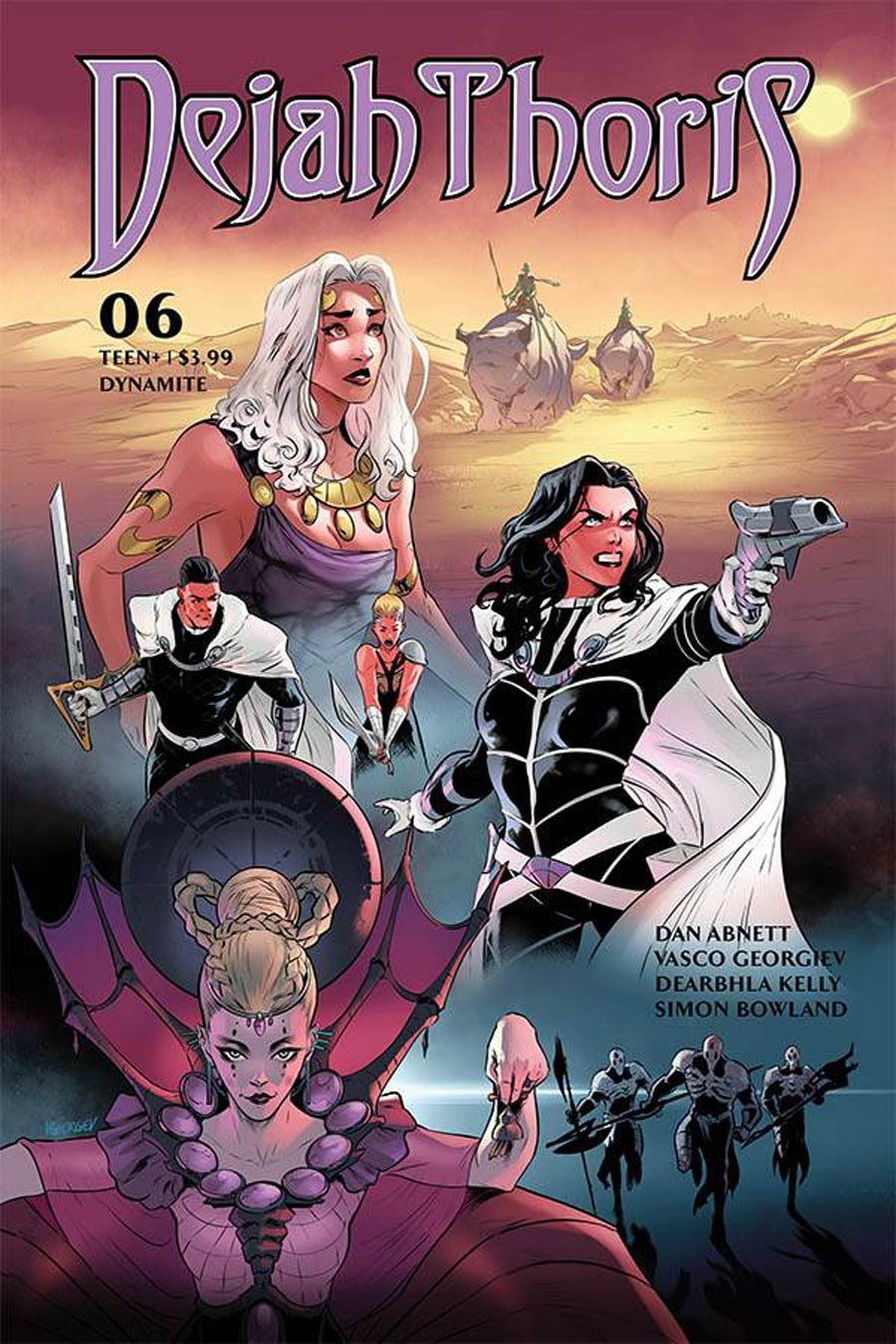 Dejah Thoris Vol 3 #6 Cover B Variant Vasco Georgiev Cover