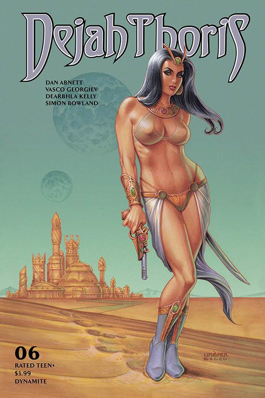 Dejah Thoris Vol 3 #6 Cover C Variant Joseph Michael Linsner Cover