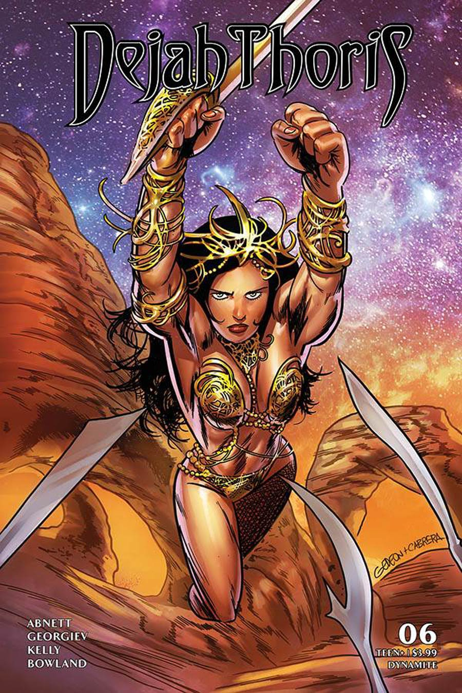 Dejah Thoris Vol 3 #6 Cover D Variant Juan Gedeon Jim Lee Homage Cover