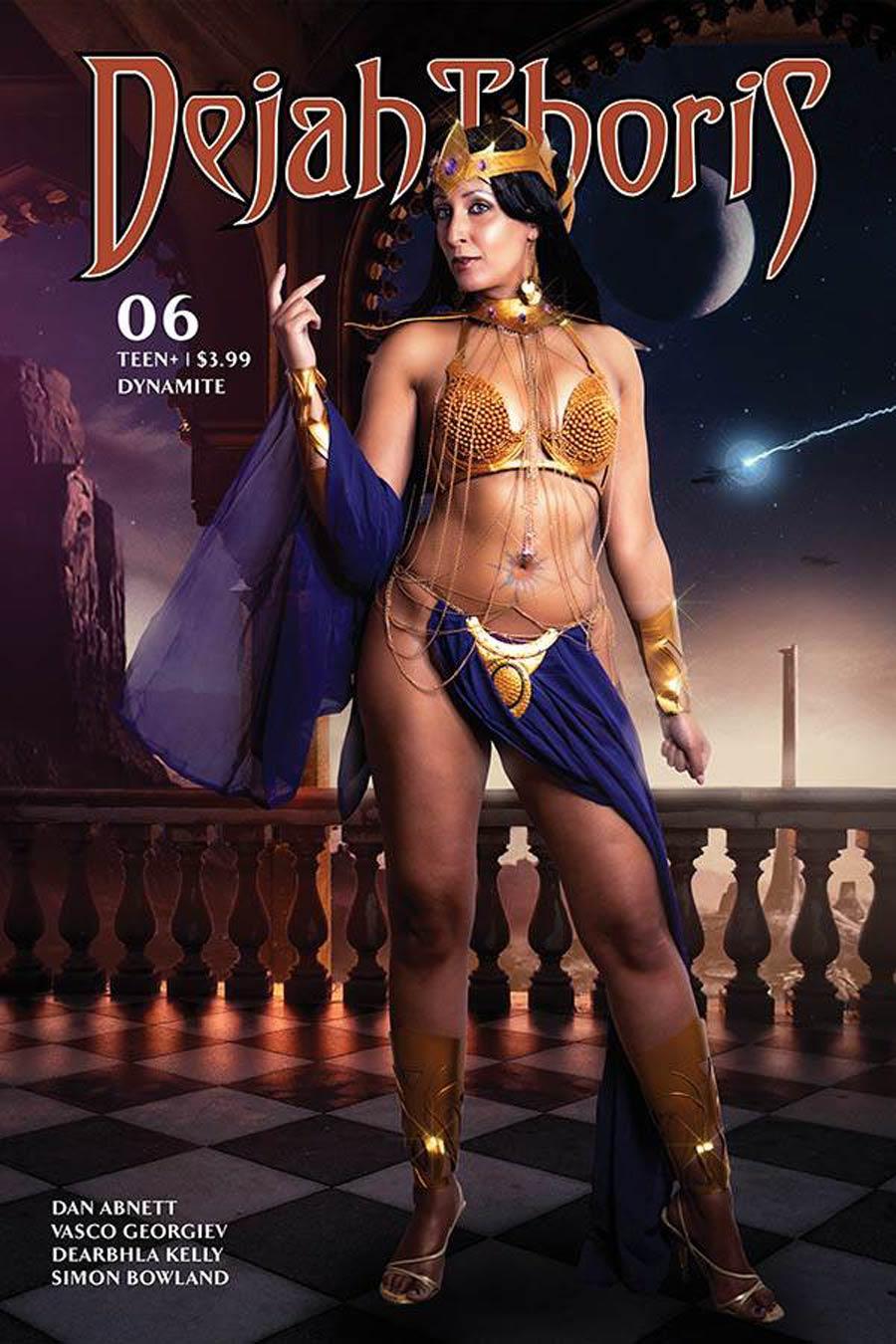 Dejah Thoris Vol 3 #6 Cover E Variant Tasha Cosplay UK Photo Cover