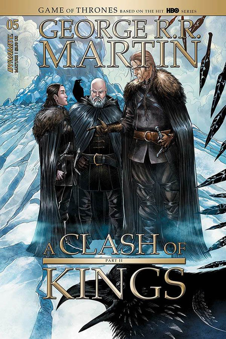 Game Of Thrones Clash Of Kings Vol 2 #5 Cover A Regular Mike Miller Cover