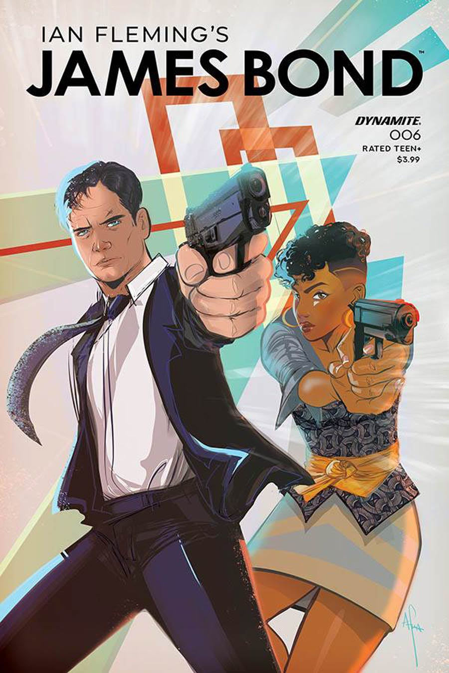 James Bond Vol 3 #6 Cover A Regular Afua Richardson Cover