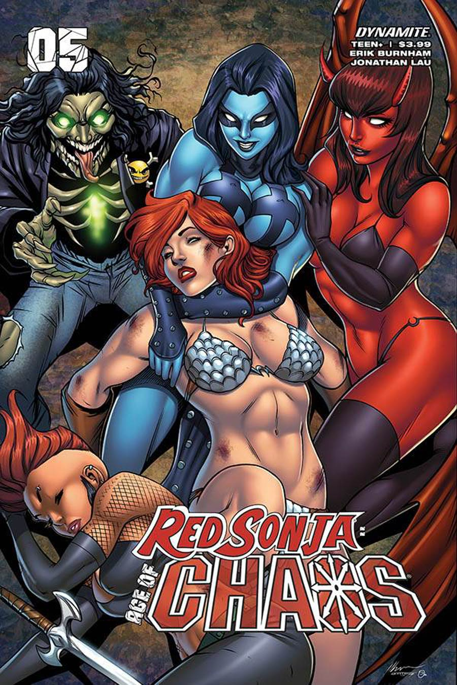 Red Sonja Age Of Chaos #5 Cover C Variant Ale Garza Cover