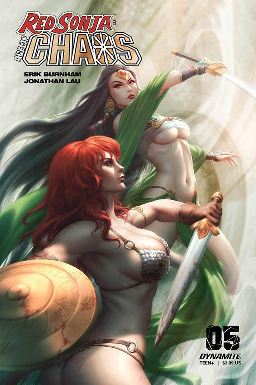 Red Sonja Age Of Chaos #5 Cover D Variant Kunkka Cover