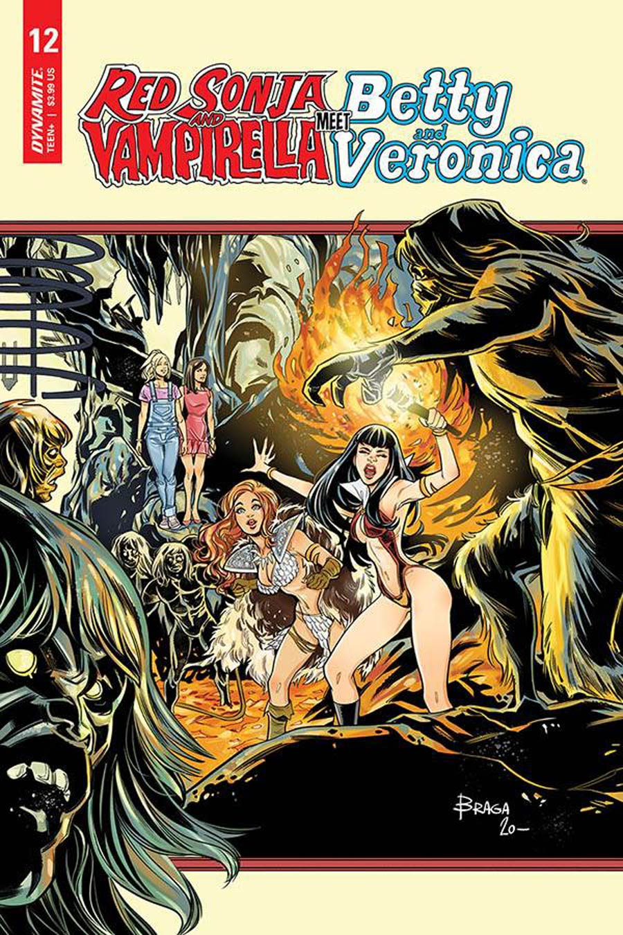 Red Sonja And Vampirella Meet Betty And Veronica #12 Cover C Variant Laura Braga Cover
