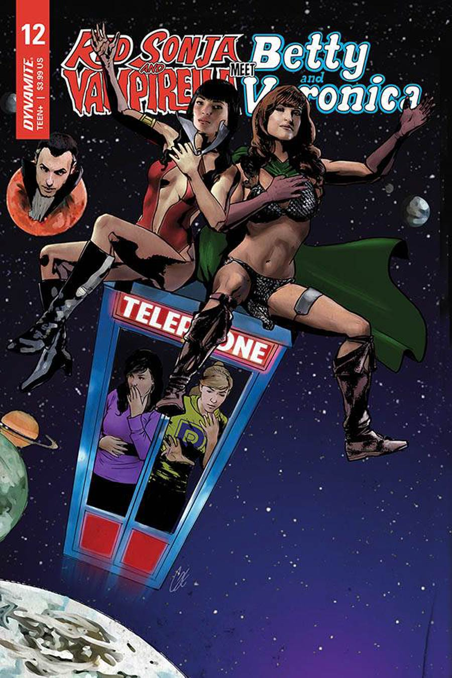 Red Sonja And Vampirella Meet Betty And Veronica #12 Cover E Variant Cat Staggs Cover