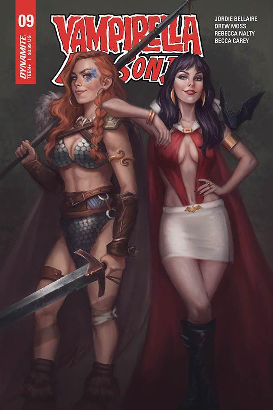 Vampirella Red Sonja #9 Cover B Variant Mayara Sampaio Cover