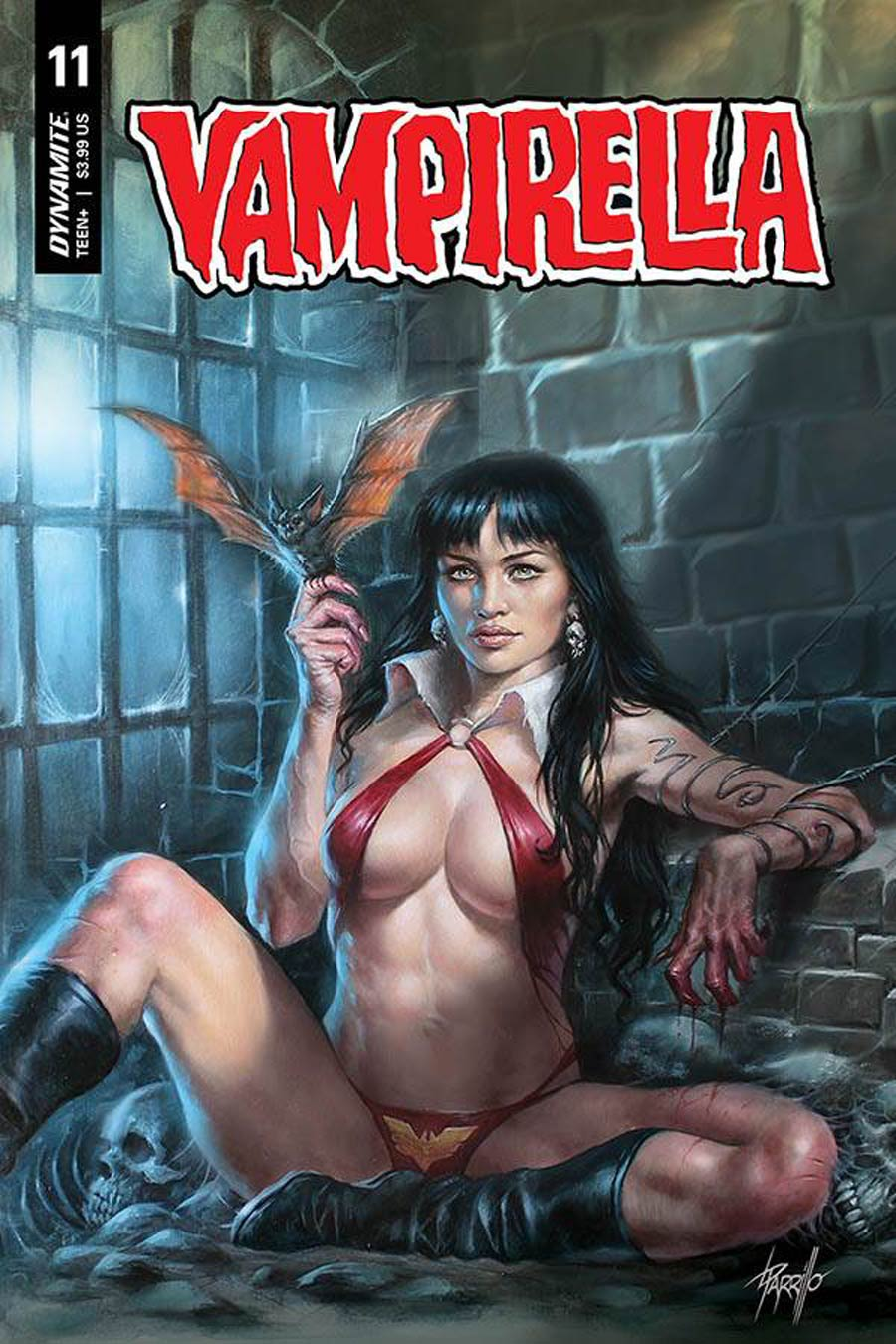 Vampirella Vol 8 #11 Cover A Regular Lucio Parrillo Cover