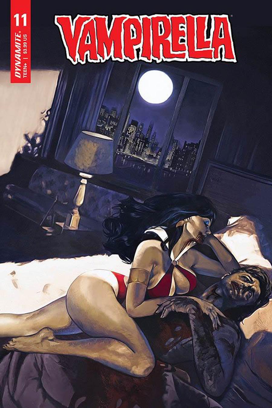 Vampirella Vol 8 #11 Cover C Variant Fay Dalton Cover
