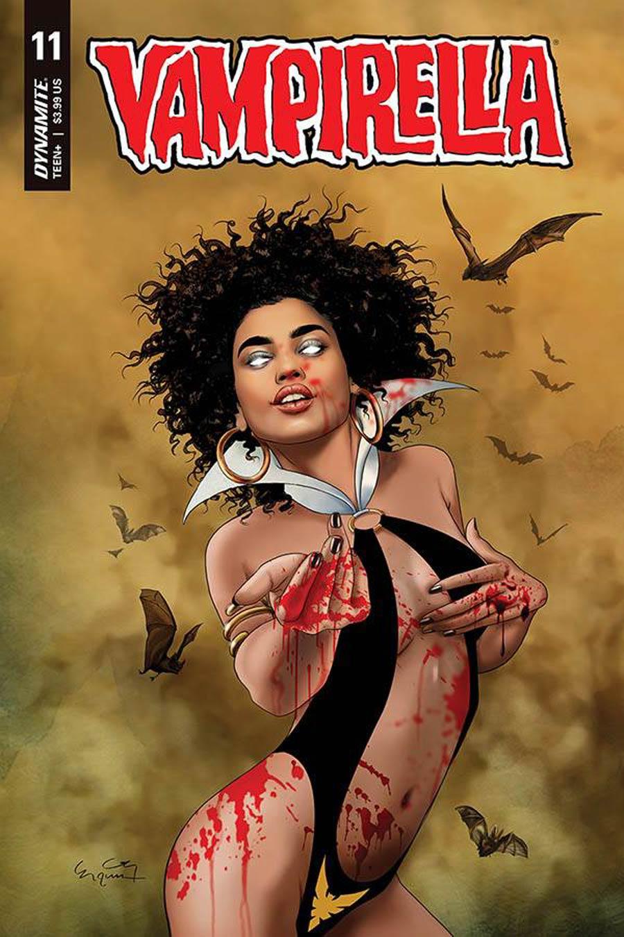 Vampirella Vol 8 #11 Cover D Variant Ergun Gunduz Cover