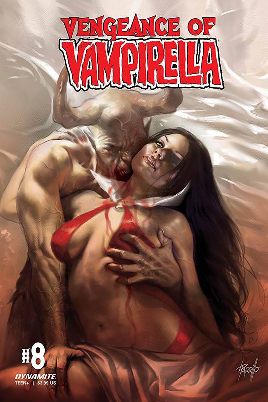Vengeance Of Vampirella Vol 2 #8 Cover A Regular Lucio Parrillo Cover
