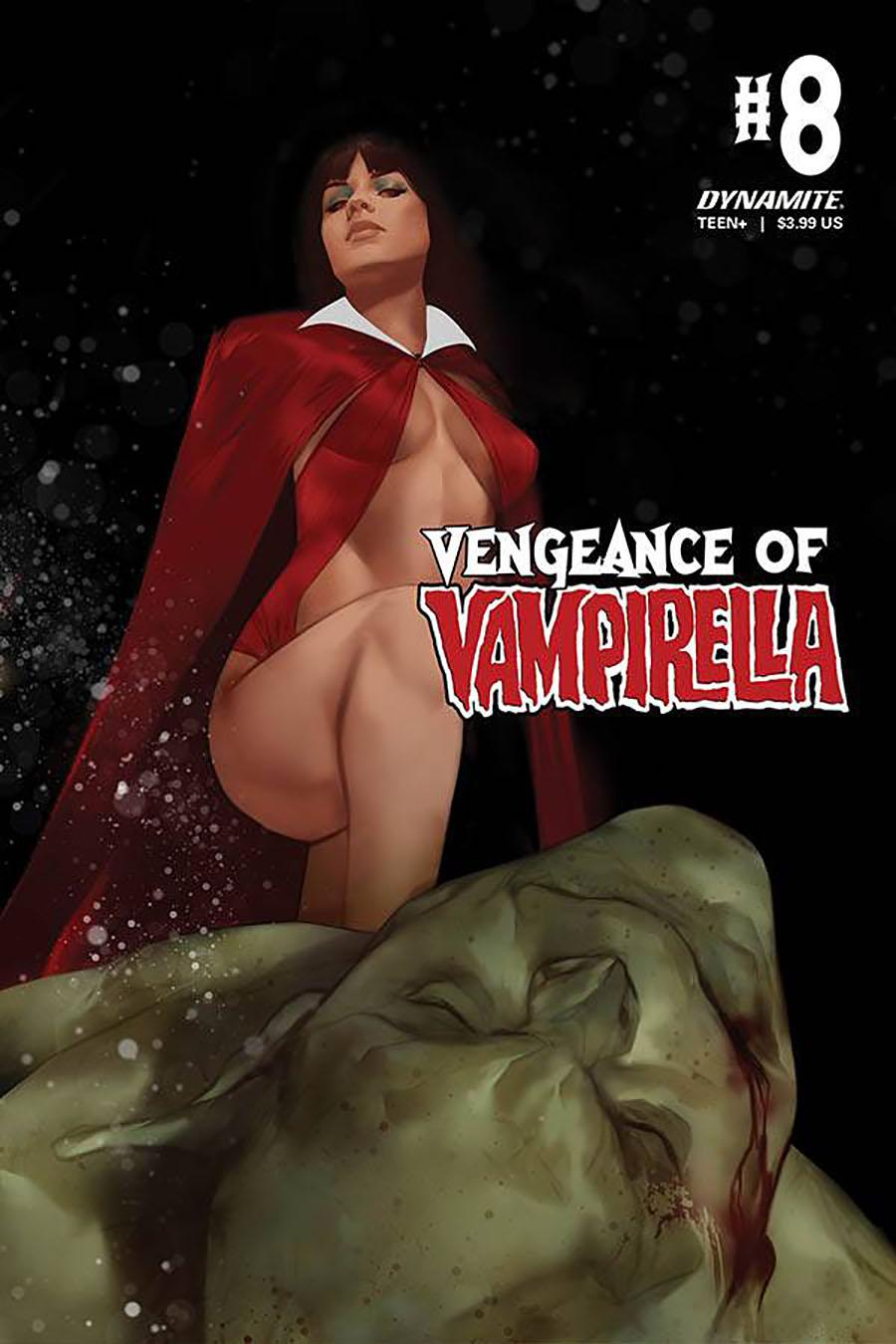 Vengeance Of Vampirella Vol 2 #8 Cover B Variant Ben Oliver Cover