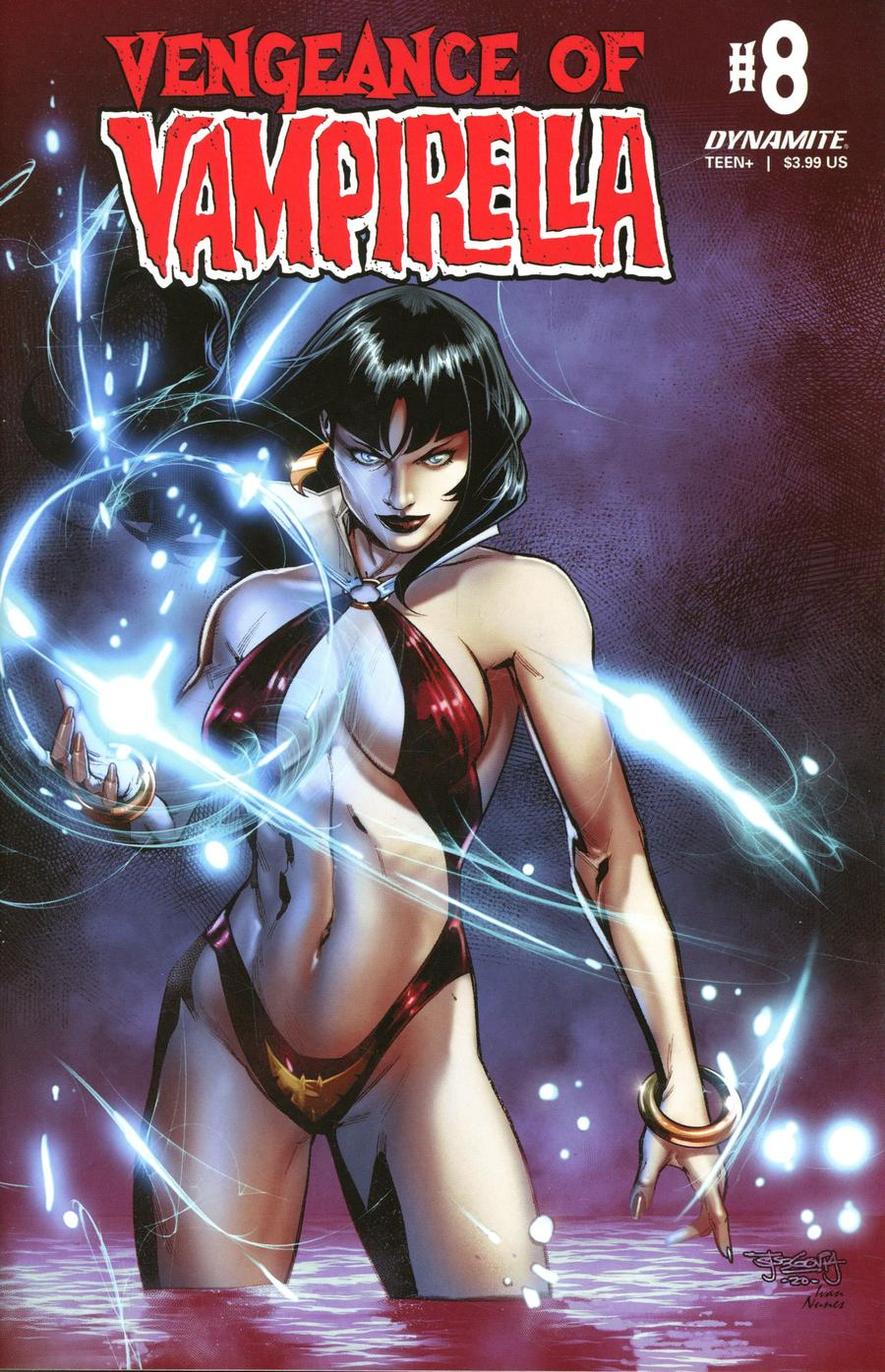 Vengeance Of Vampirella Vol 2 #8 Cover C Variant Stephen Segovia Cover