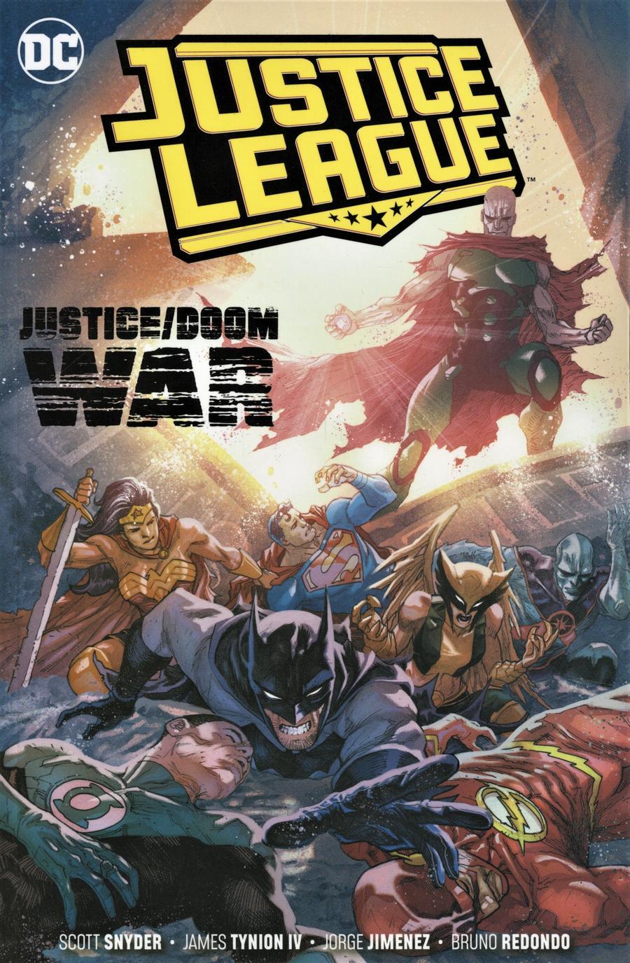 Justice League (2018) Vol 5 Justice Doom War TP