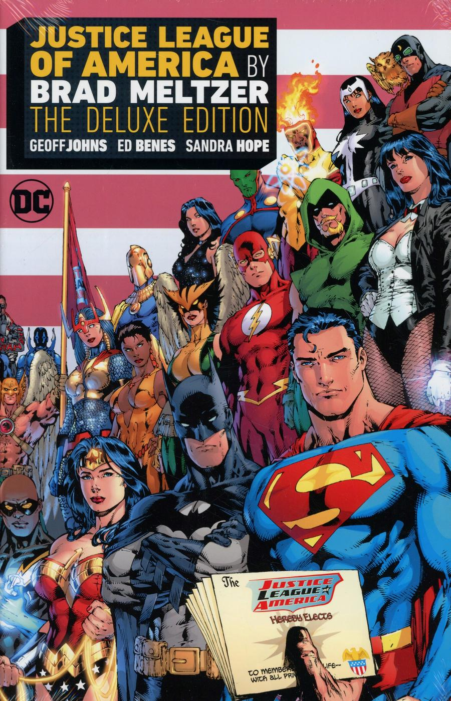 Justice League Of America By Brad Meltzer Deluxe Edition HC