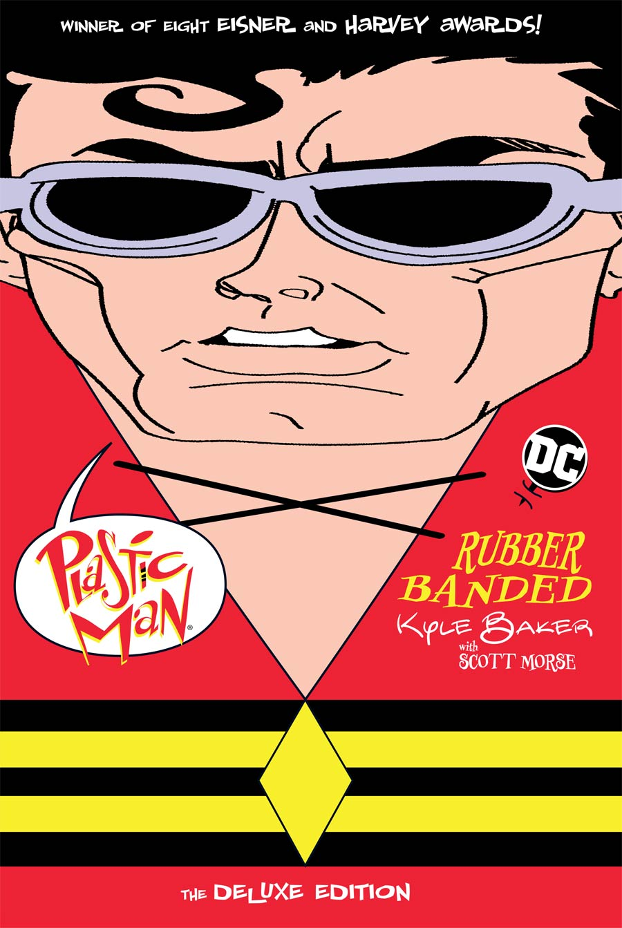 Plastic Man Rubber Banded Deluxe Edition HC