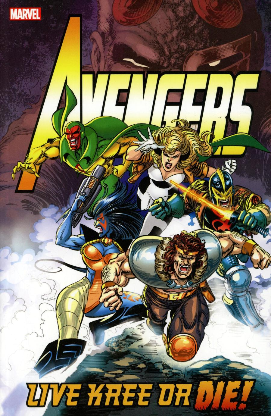 Avengers Live Kree Or Die TP