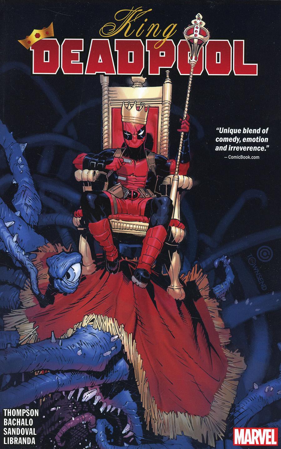 King Deadpool Vol 1 Hail To The King TP