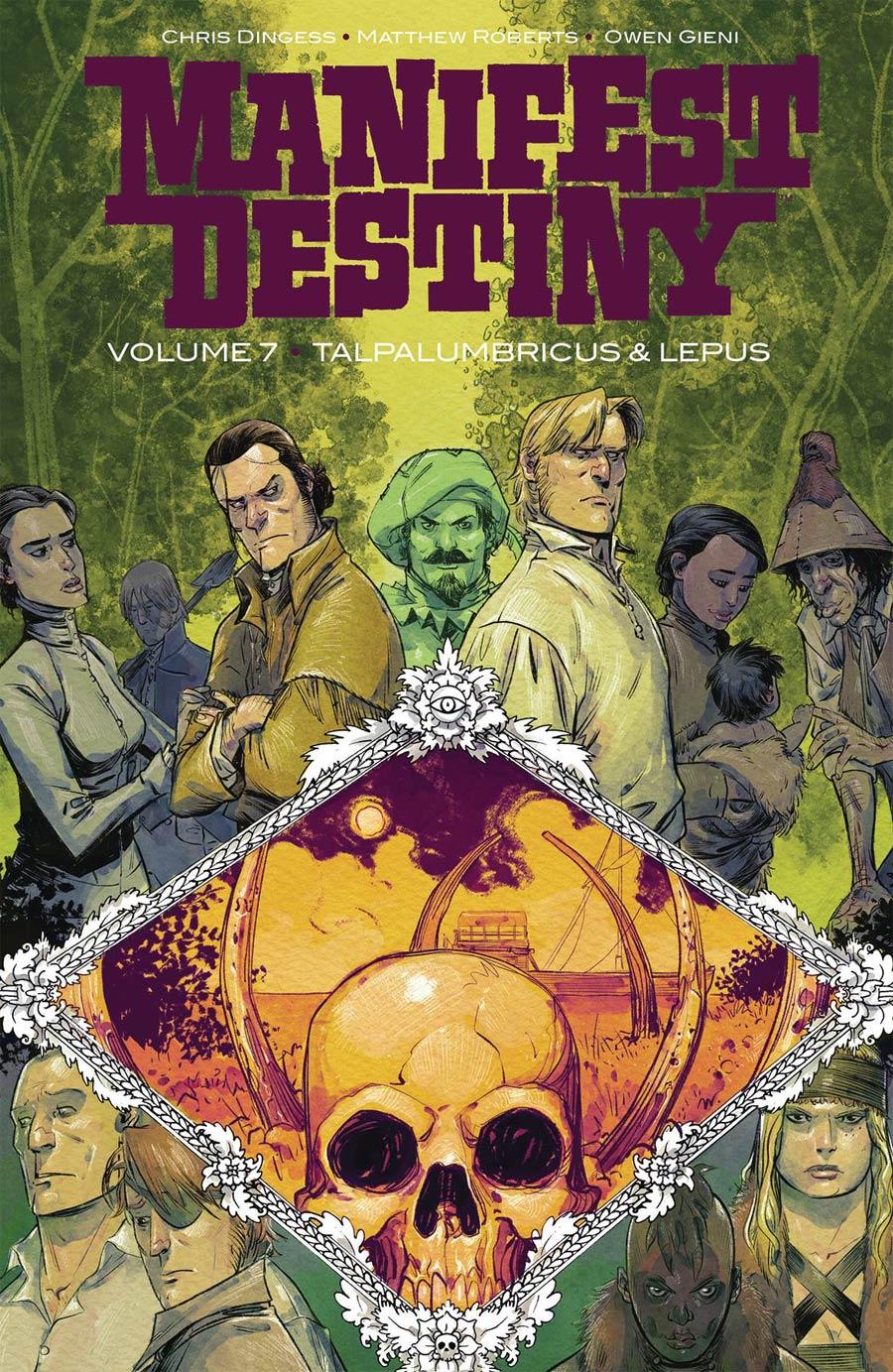 Manifest Destiny Vol 7 Talpa Lumbricus & Lepus TP