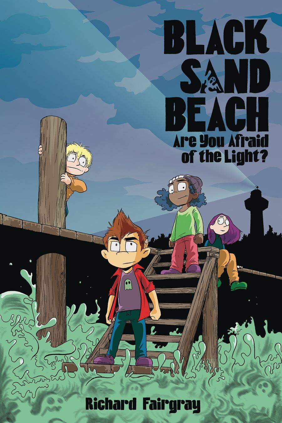 Black Sand Beach Vol 1 Are You Afraid Of The Light HC