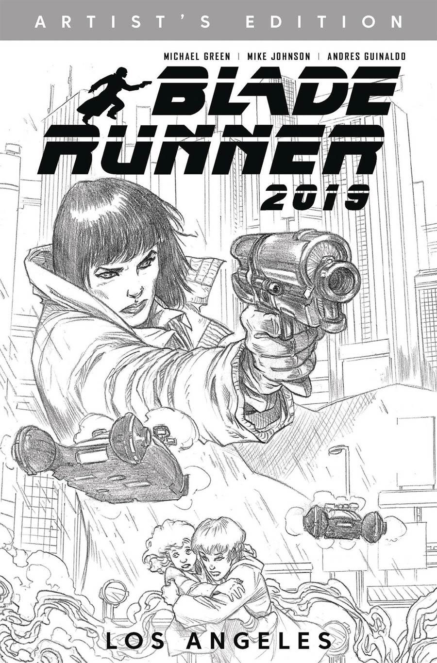 Blade Runner 2019 Vol 1 Los Angeles HC Artists Edition