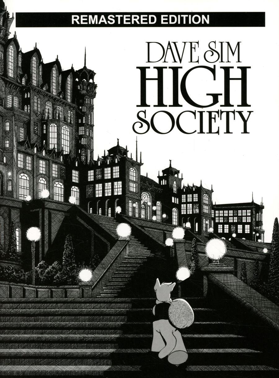 Cerebus Vol 2 High Society TP Remastered Edition