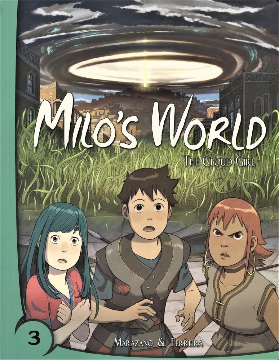 Milos World Book 3 Cloud Girl HC