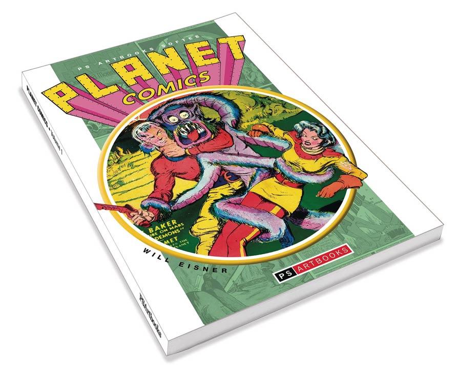 PS Artbooks Planet Comics Softee Vol 1 TP