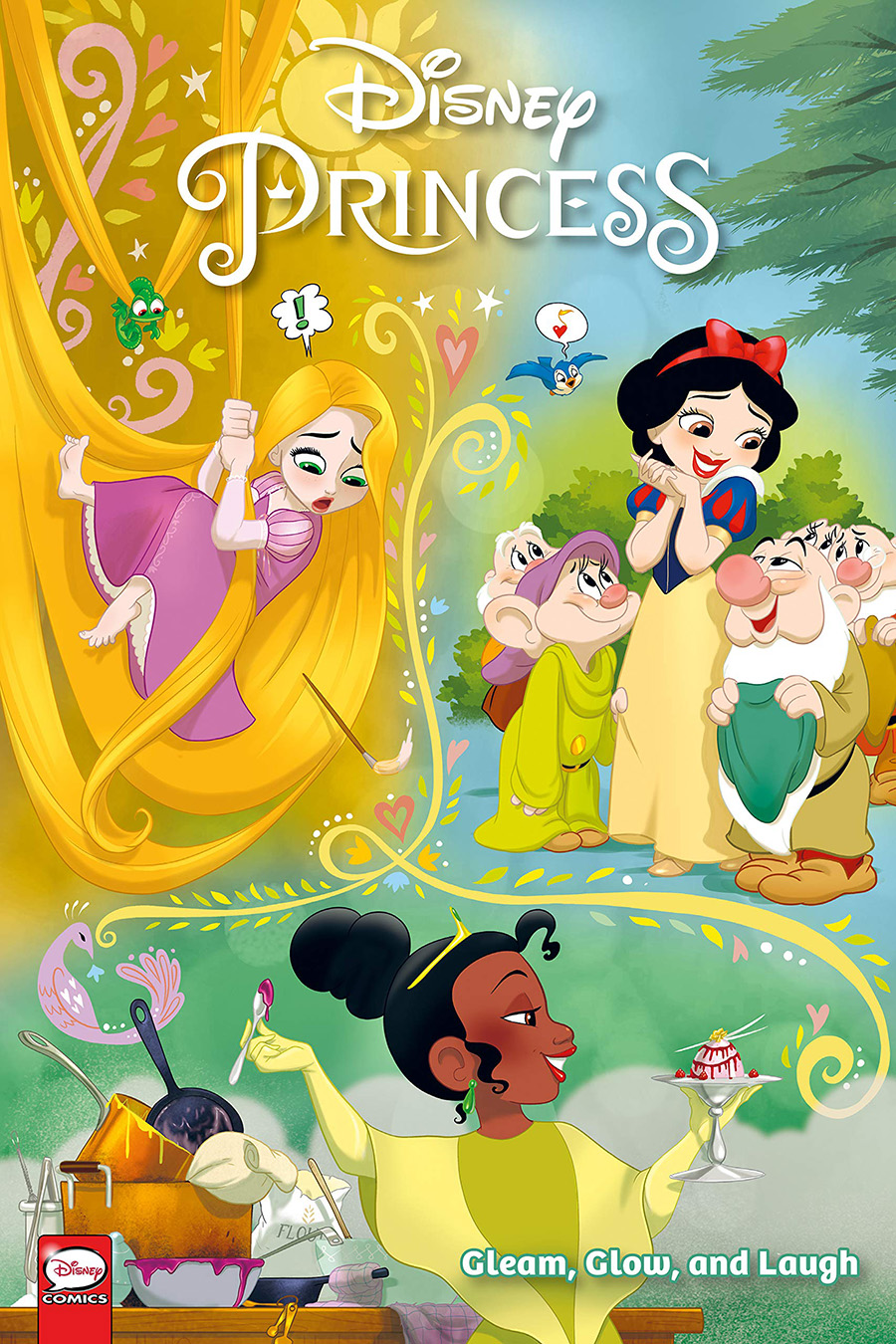 Disney Princess Gleam Glow And Laugh TP