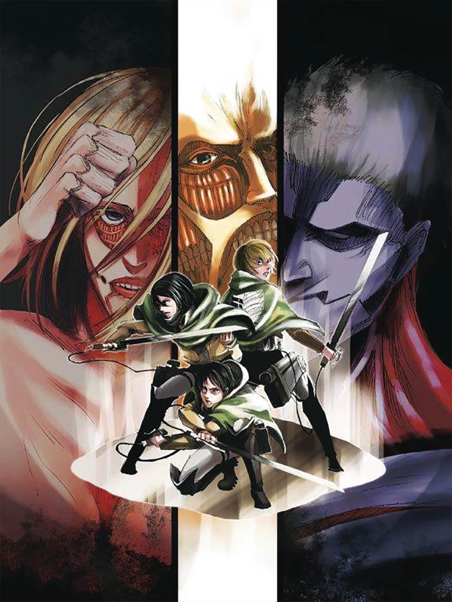 Attack On Titan Colossal Edition Vol 5 GN