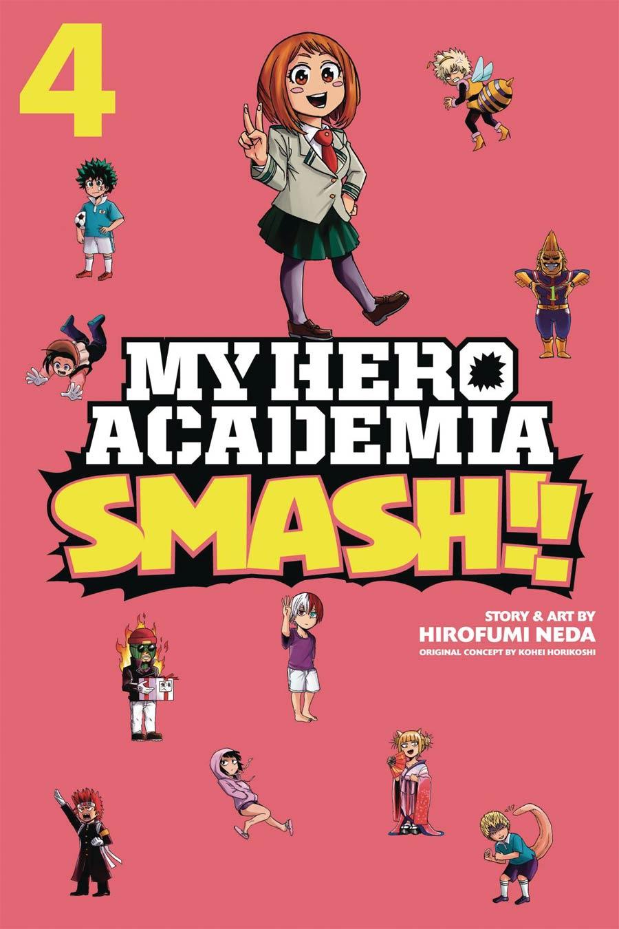 My Hero Academia Smash Vol 4 GN