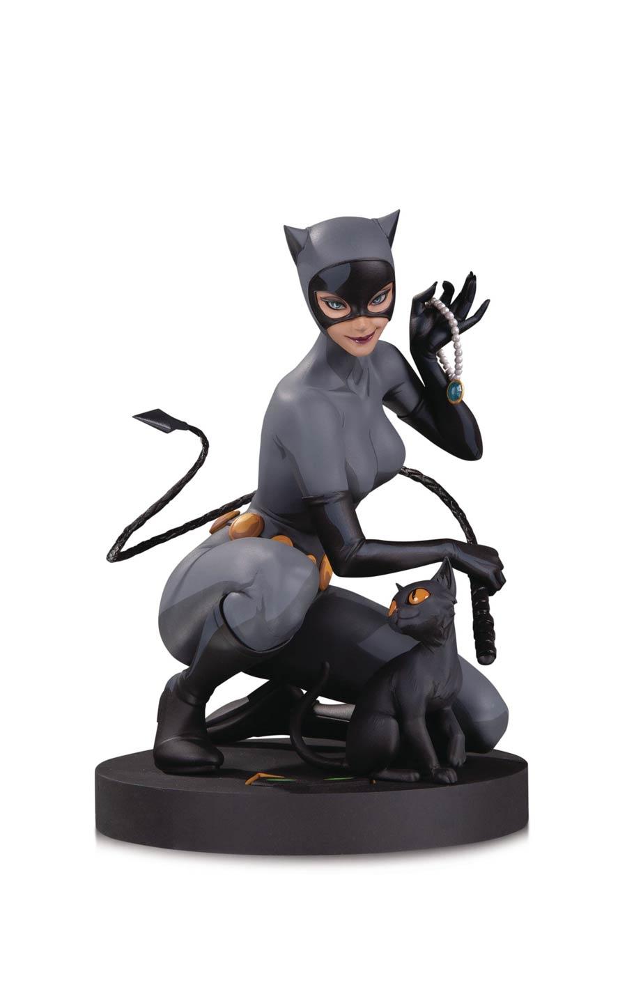 DC Comics Designer Series Catwoman By Stanley Artgerm Lau Statue