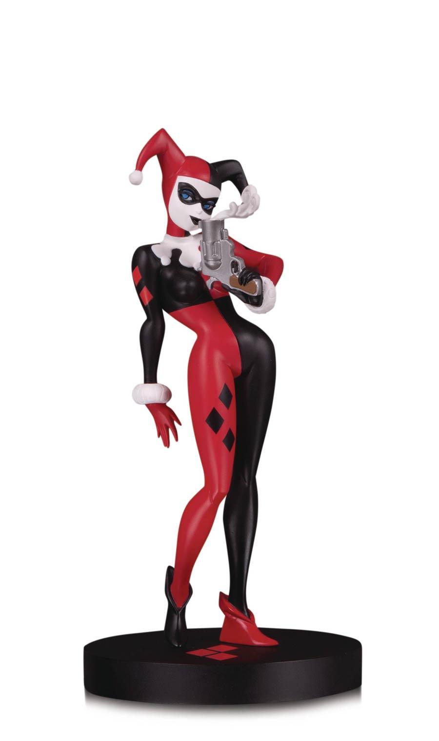 DC Comics Designer Series Harley Quinn By Bruce Timm Mini Statue
