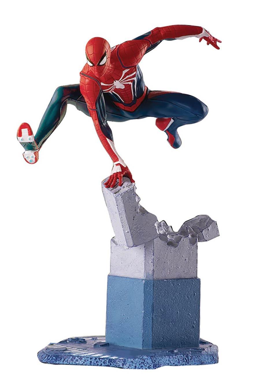 Marvel Gamerverse Spider-Man PS4 1/12 Scale PVC Statue