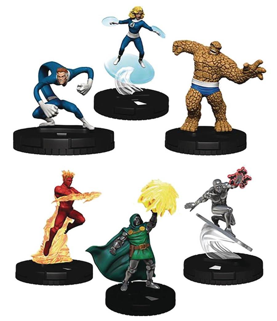Marvel HeroClix Fantastic Four Booster Brick (10-Count)