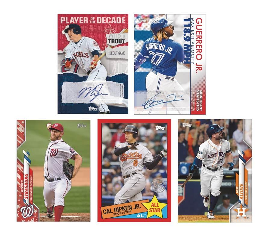 Topps 2020 Baseball Series 2 Trading Cards Box