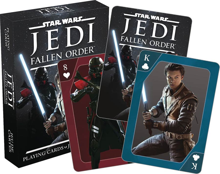 Star Wars Jedi The Fallen Order Playing Cards