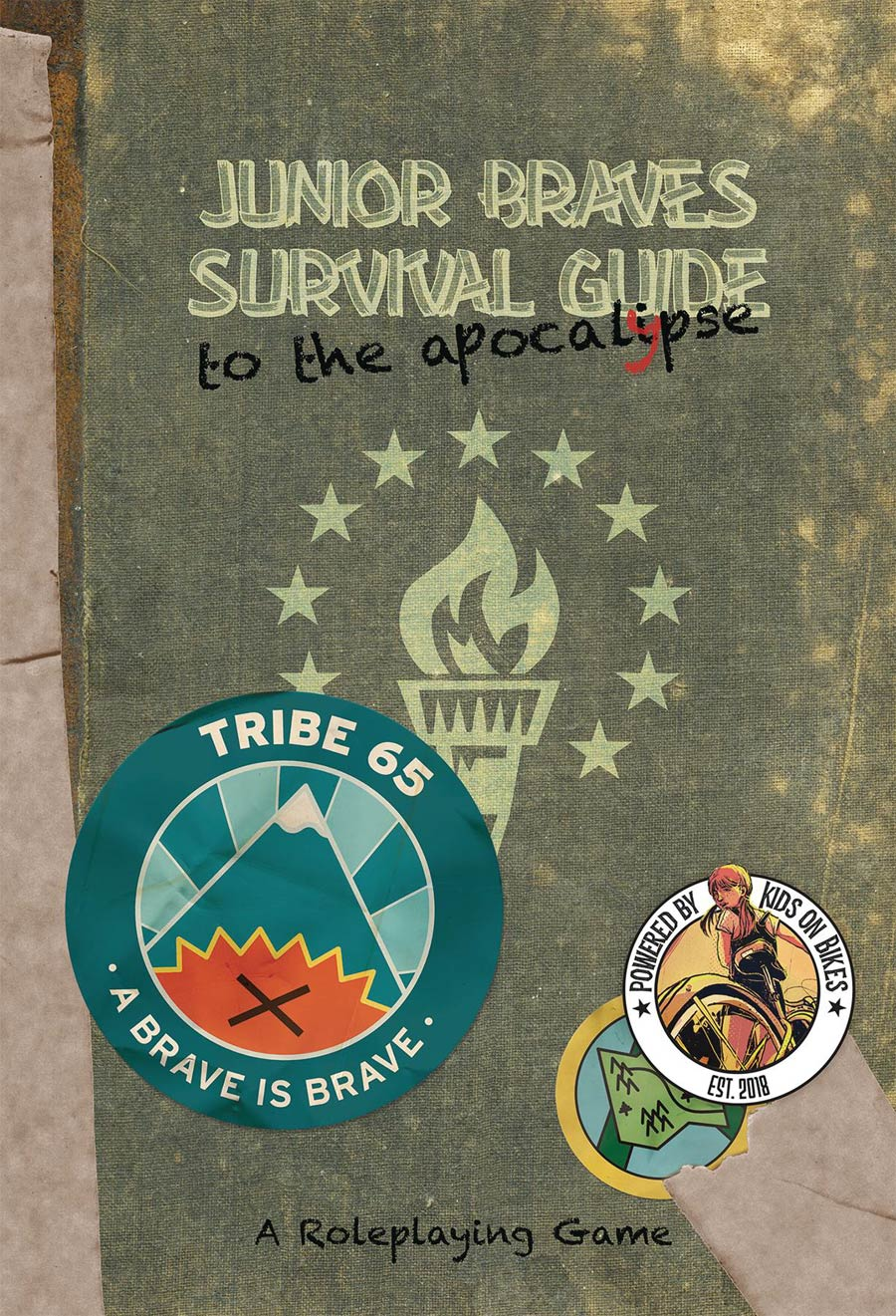 Junior Braves Survival Guide To The Apocalypse RPG HC