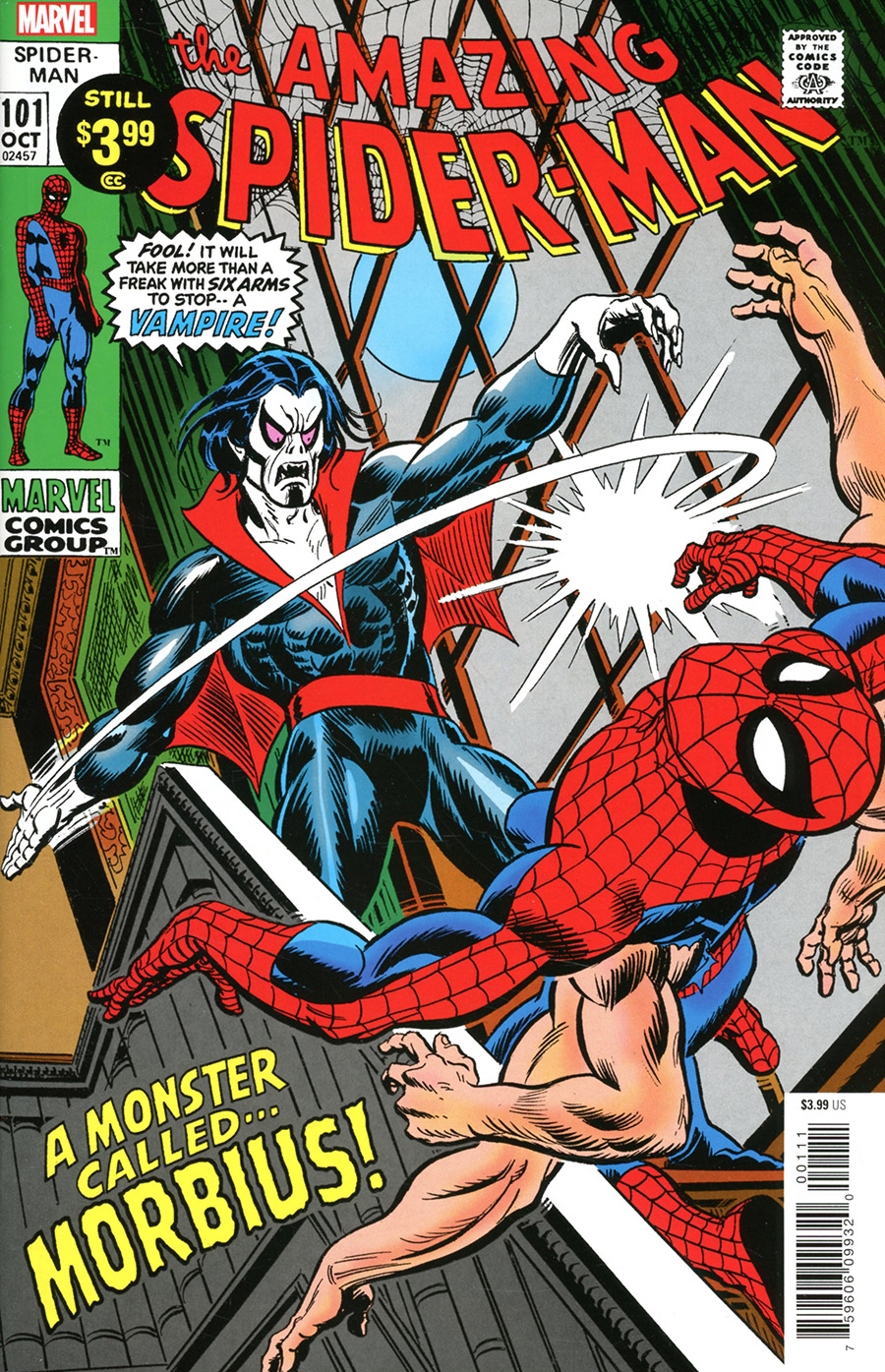 Amazing Spider-Man #101 Facsimile Poster