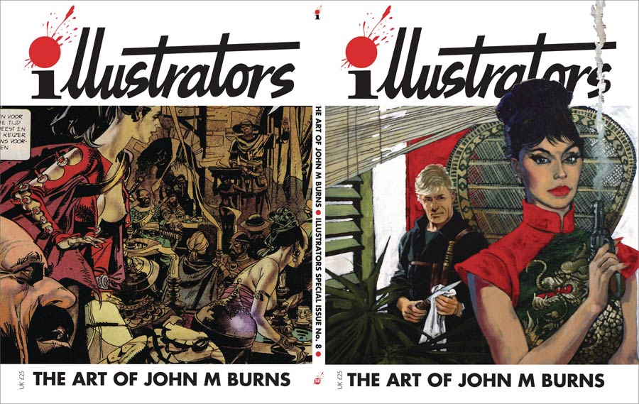 Illustrators Special #8 Art Of John M Burns
