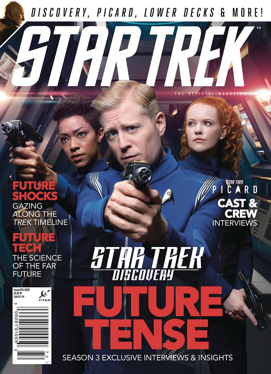 Star Trek Magazine #76 September 2020 Newsstand Edition