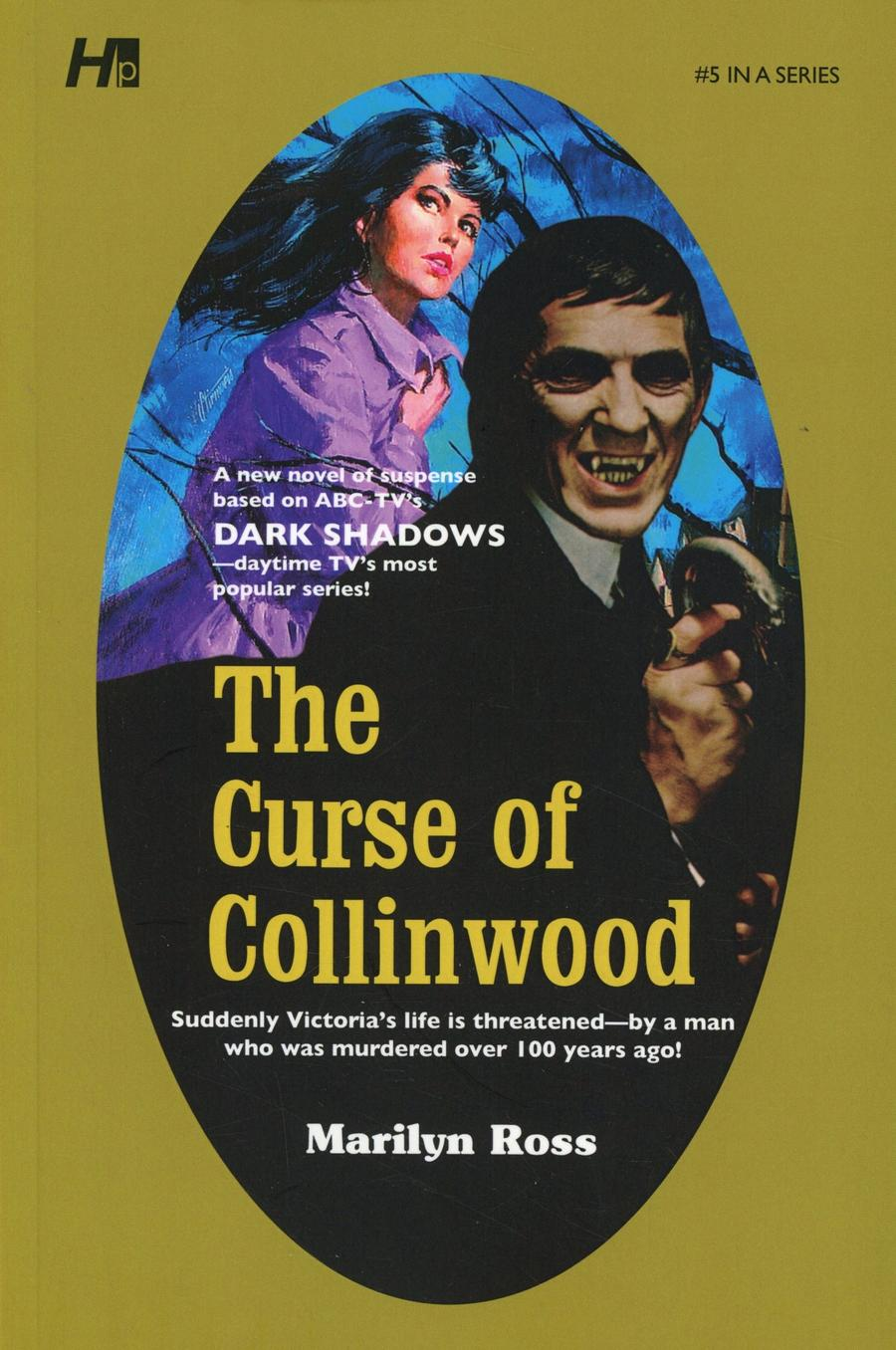 Dark Shadows Paperback Library Novel Vol 5 Curse Of Collinwood TP